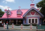 Minnie Mouse's pink and purple cottage at Disney World