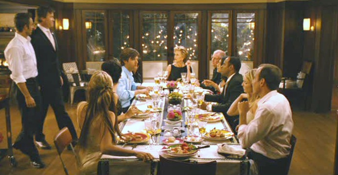"""""""Monster-in-Law"""" movie Craftsman dining room"""