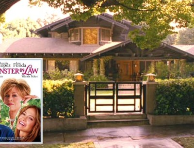 "A Peek Inside the Historic Craftsman from ""Monster-in-Law"""