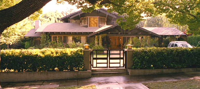 Monster-in-Law movie house Kevin's Craftsman
