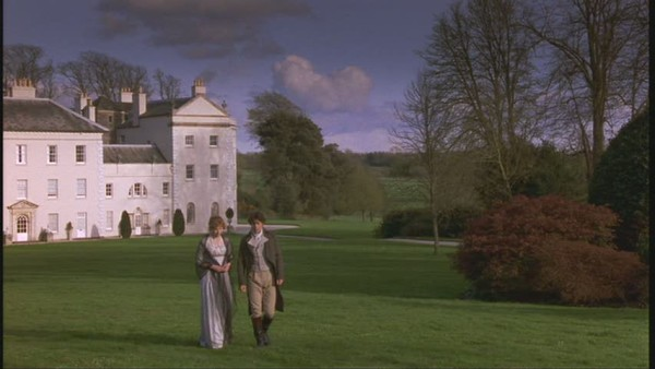 "Saltram House as Norland Park in ""Sense and Sensibility"""