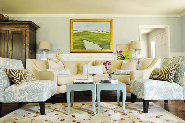 Pawleys Island Posh Living Room