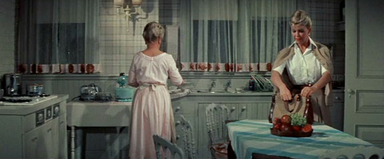 """""""Please Don't Eat the Daisies"""" movie house kitchen"""