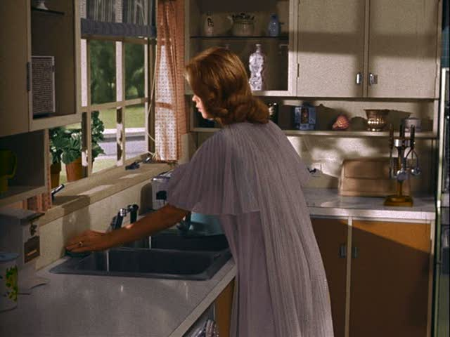 Samantha in the kitchen on Bewitched