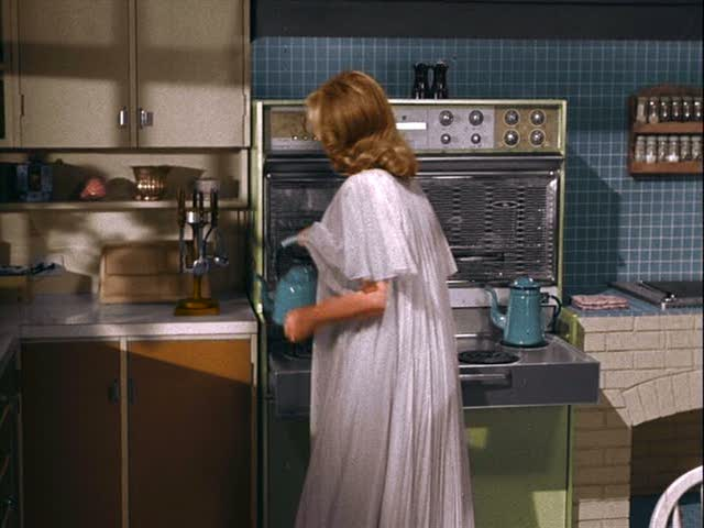 Samantha in the kitchen on TV show Bewitched
