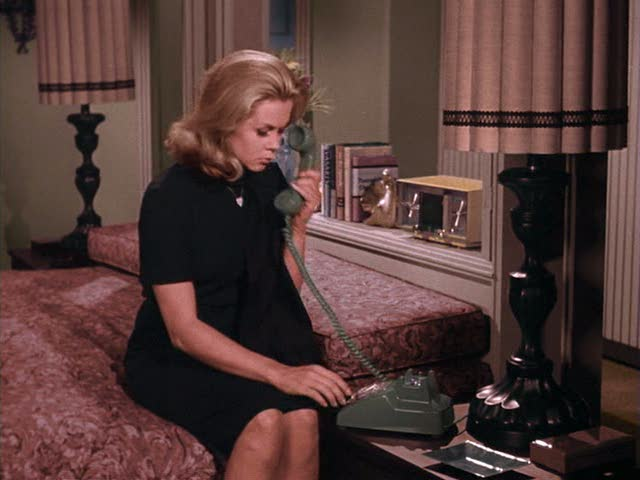 Samantha's bedroom on Bewitched TV show