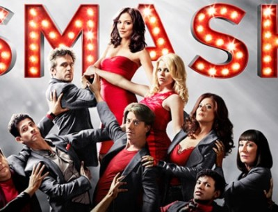 official NBC poster for TV show Smash with logo