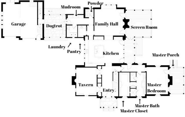 Southern Living Idea House Charlottesville floor plans
