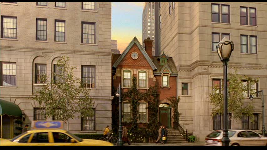"""Stuart Little"" movie house screenshots"