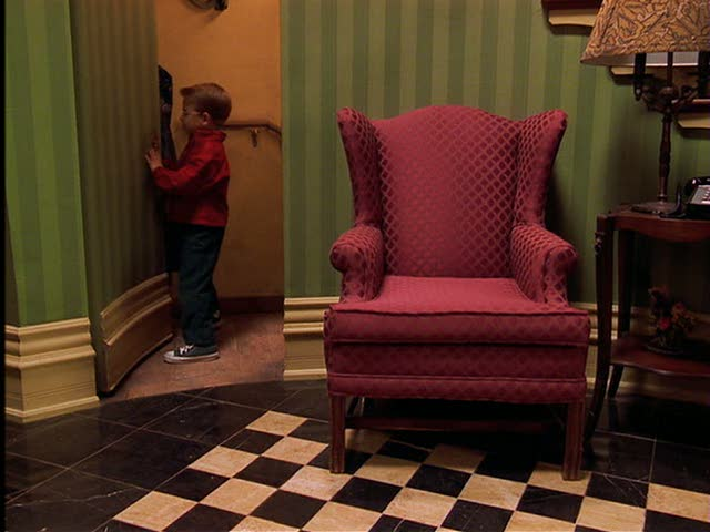 """Stuart Little"" movie house set design 