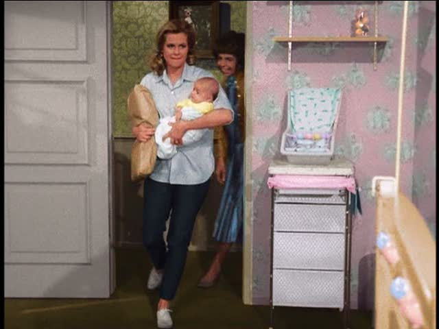 Tabitha's nursery on Bewitched