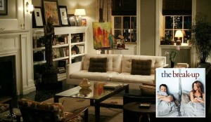 """The Break-Up"" movie apartment sets behind the scenes 