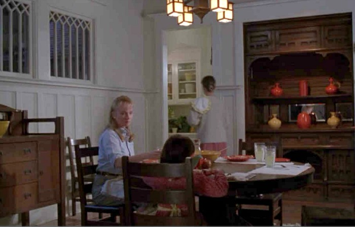 """""""The Hand That Rocks the Cradle"""" movie house dining room"""