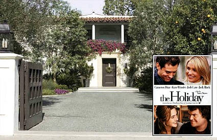 "Amanda's contemporary house in the movie ""The Holiday"""