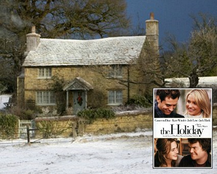 "Iris's English Cottage in the movie ""The Holiday"""