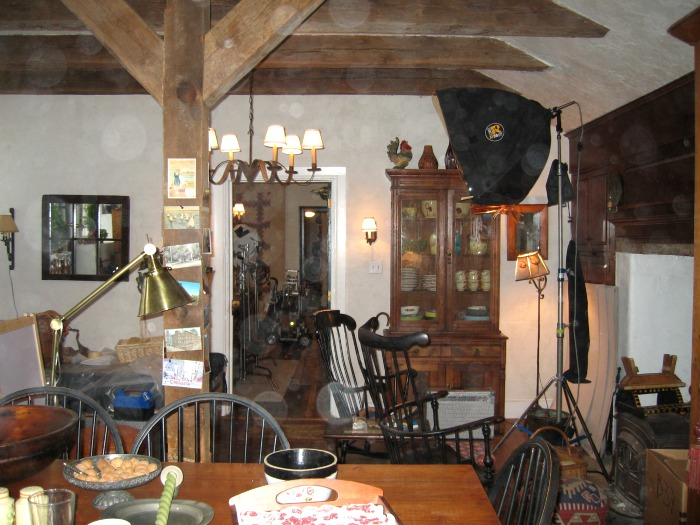 "filming ""Marley and Me"" in Pennsylvania farmhouse"