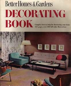 cover of Better Homes and Gardens Decorating Book from 1956