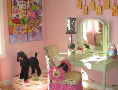 Marley's Pink Bedroom at Homearama