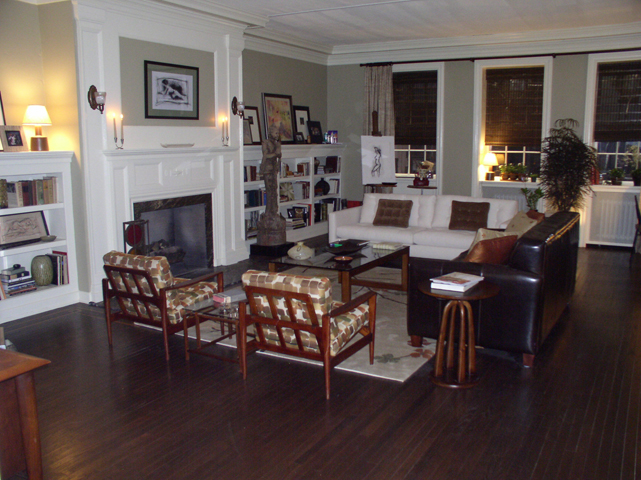 """Living room on the set of the movie """"The Break-Up"""""""