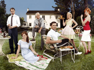 cast photo for Mad Men