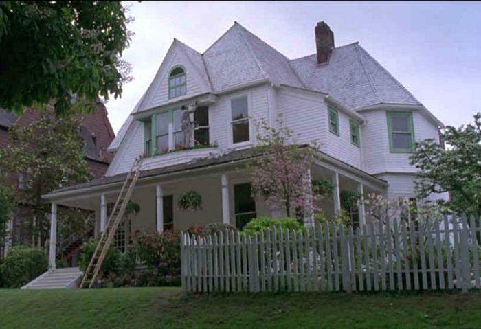 """The Hand That Rocks the Cradle"" movie house 