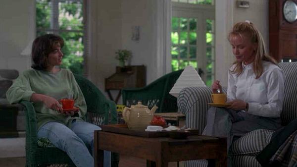 "Rebecca De Mornay and Annabella Sciorra in ""The Hand That Rocks the Cradle"" movie"