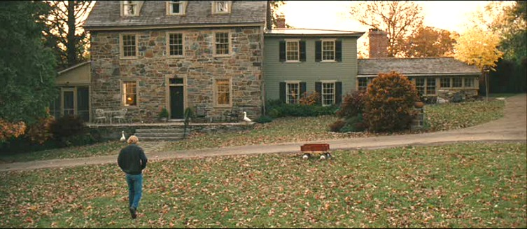 "stone farmhouse from ""Marley and Me"""