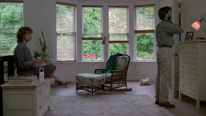 the master bedroom in Hand That Rocks the Cradle
