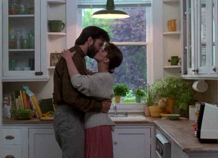 """Kitchen from the """"Hand That Rocks the Cradle"""" movie house"""