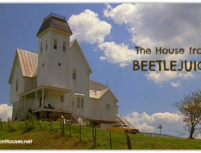 "The ""Beetlejuice"" House: Before & After Its Mod Makeover"