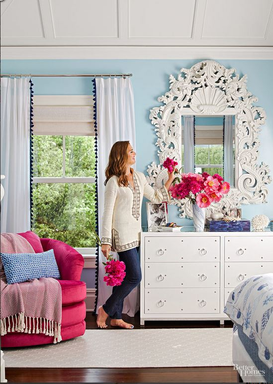 Brooke Shields Long Island Home BHG