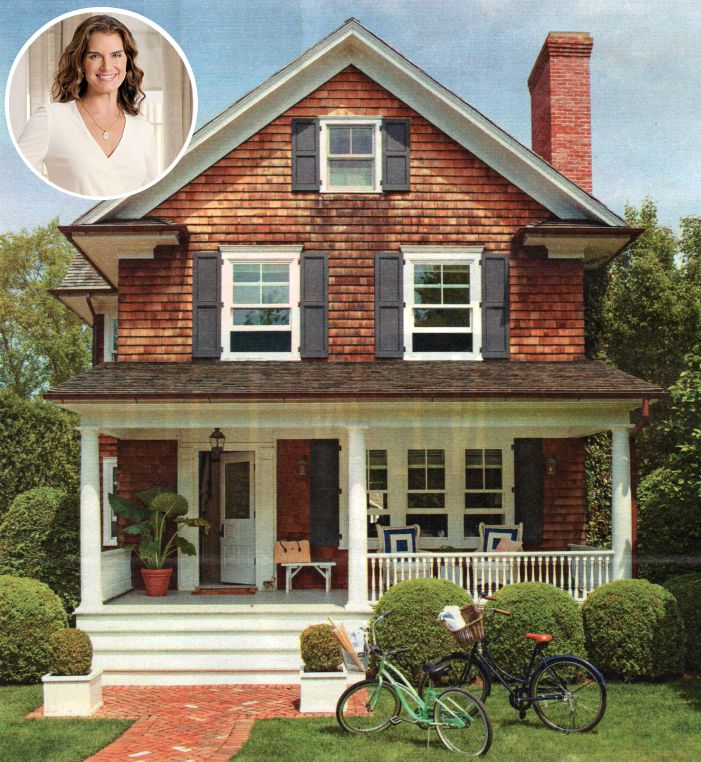 Brooke Shields house in the Hamptons BHG