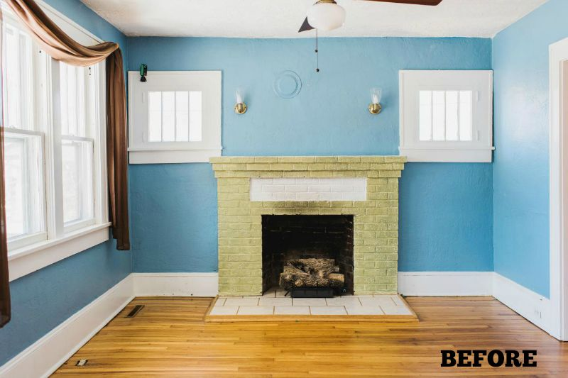 HGTV Urban Oasis Bungalow Sweepstakes 2015 Asheville NC BEFORE