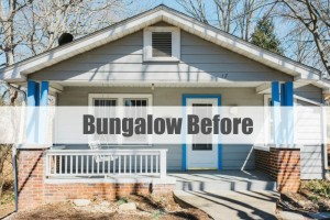 HGTV Urban Oasis Bungalow Asheville BEFORE