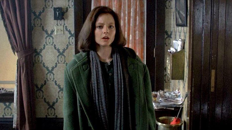 Jodie Foster in Silence of the Lambs