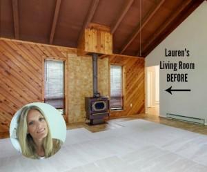 Lauren Liess's living room before