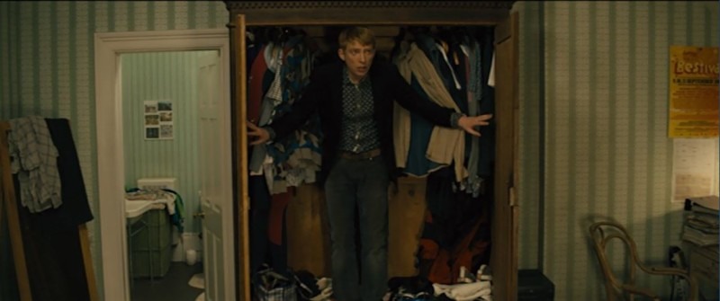 Scenes from the house in the movie About Time hallway