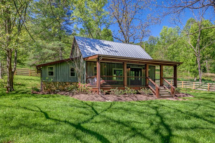 NEST A Pretty Little Cabin Rental in Franklin Tennessee