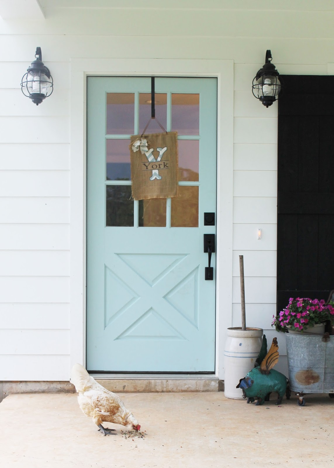 1600 #7F6647 Brittany York's Sugarberry Farmhouse In Louisiana Hooked On Houses  image Farmhouse Front Doors 40331143