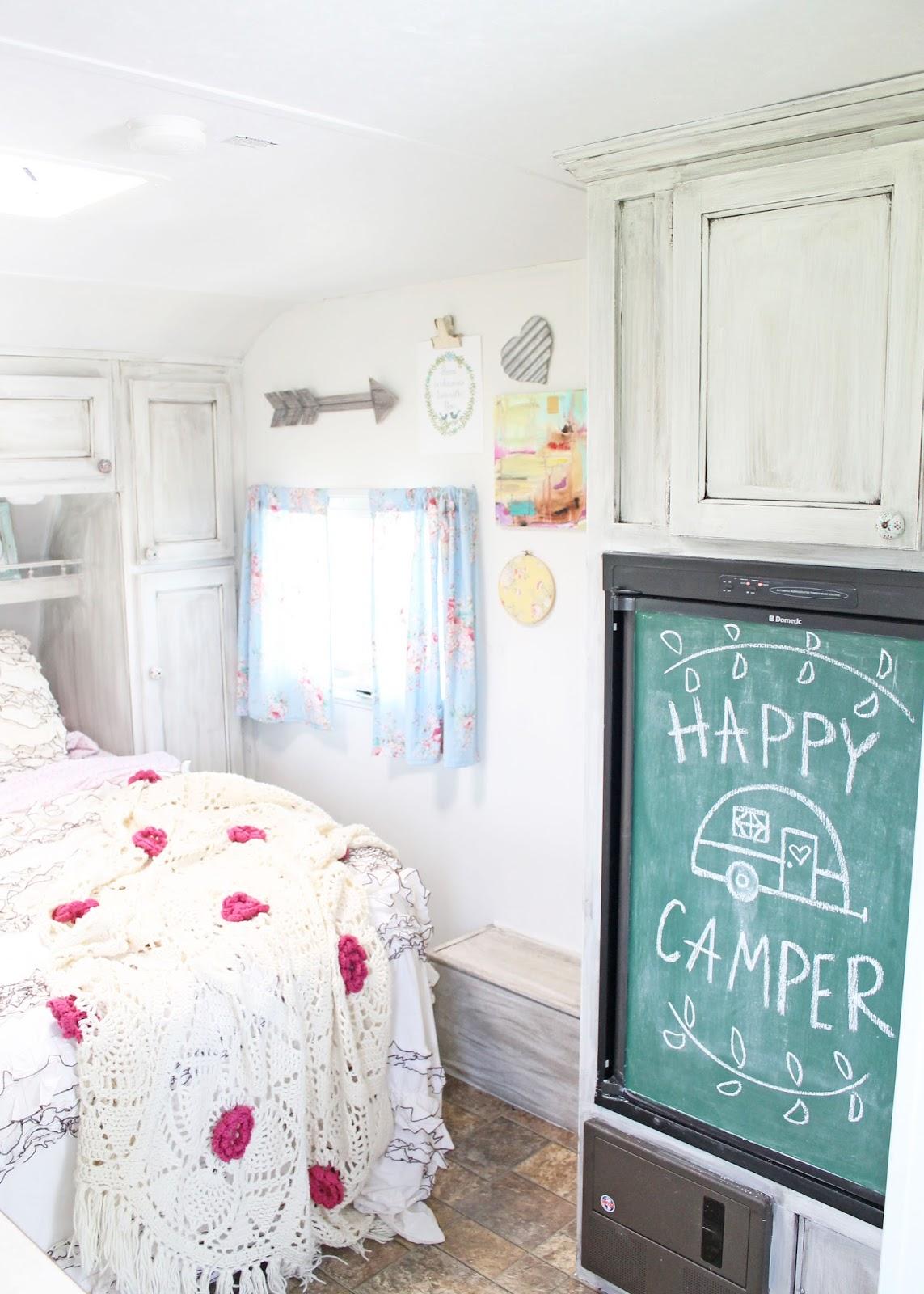 Brittany York's vintage style camper