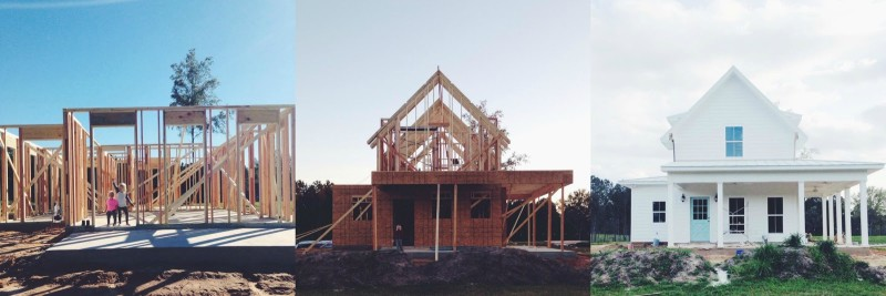 Building Sugarberry Cottage in Louisiana