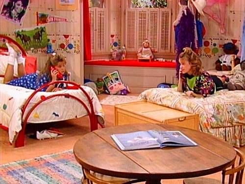 DJs bedroom on Full House