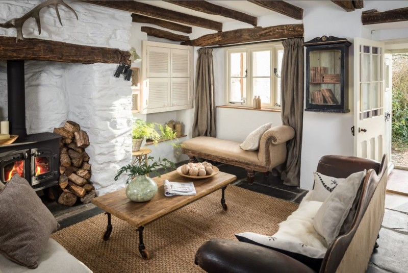 Elysian October Cottage Cornwall Unique Home Stays Holiday Rental