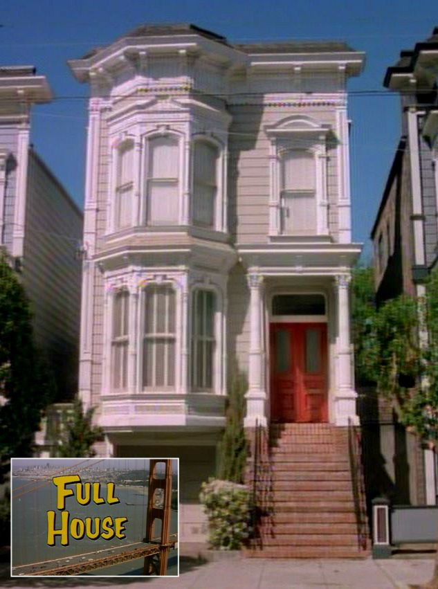 The Full House Victorian In San Francisco Today