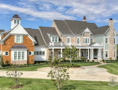 Greystone Country House Kentucky Stonecroft Homes featured