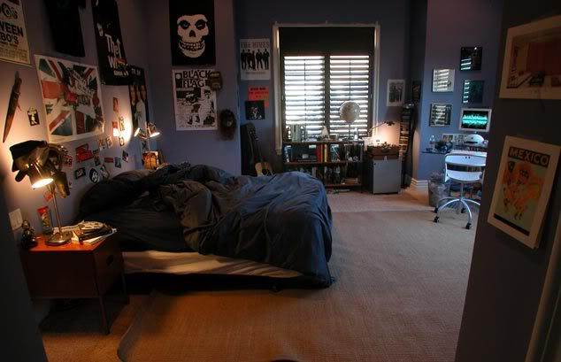 Seth Cohen's bedroom on The O.C