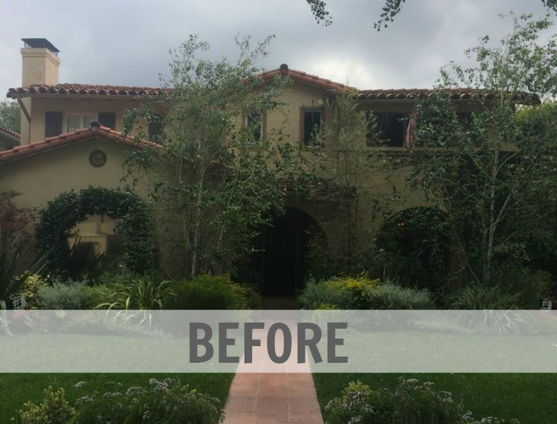 Spanish home for sale San Marino CA BEFORE renovation