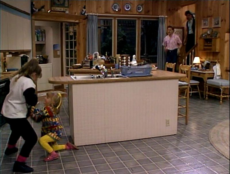 Tanner family kitchen Full House season one