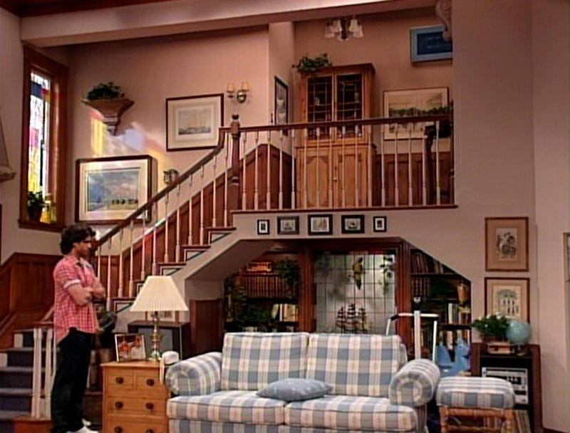 Tanner family living room Full House