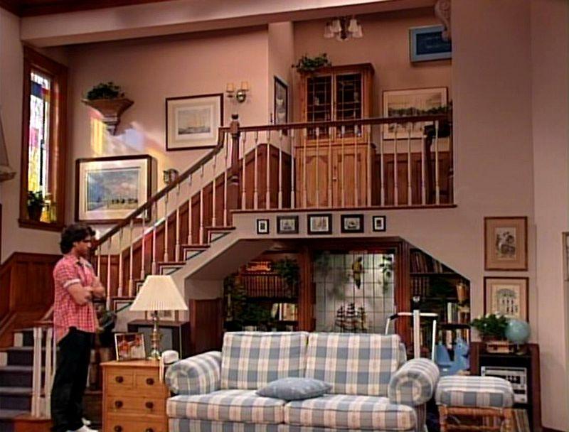 Tanner family living room Full House